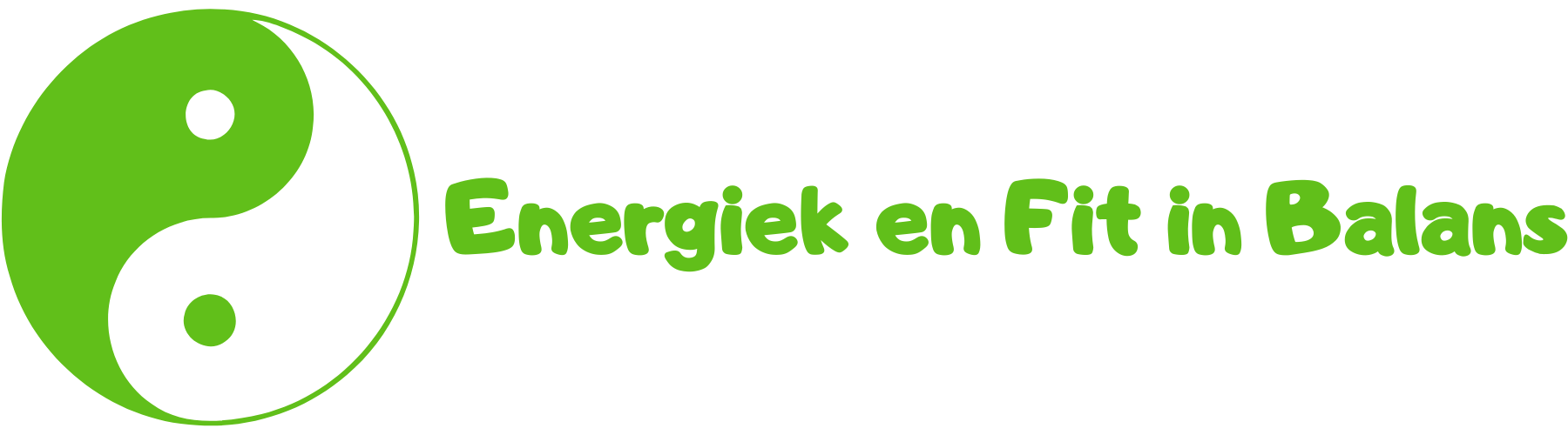energiek en fit in balans